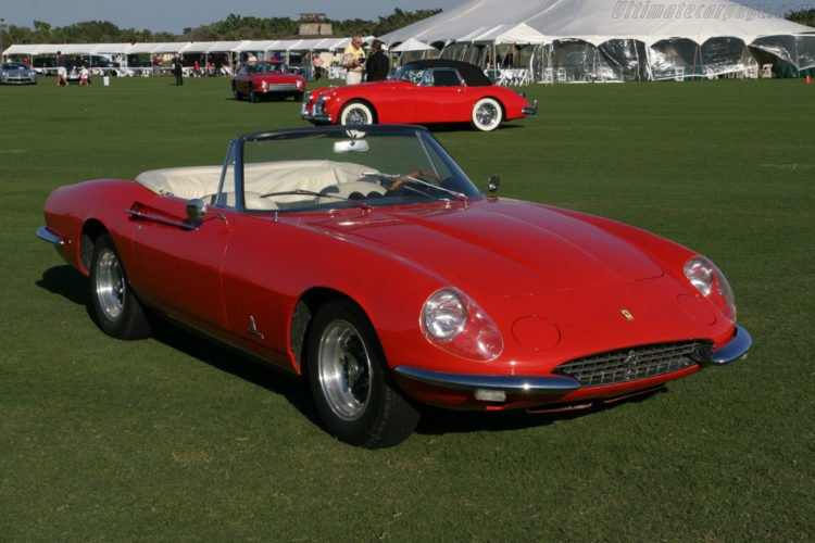 Ferrari 365 Spyder California Drop Top