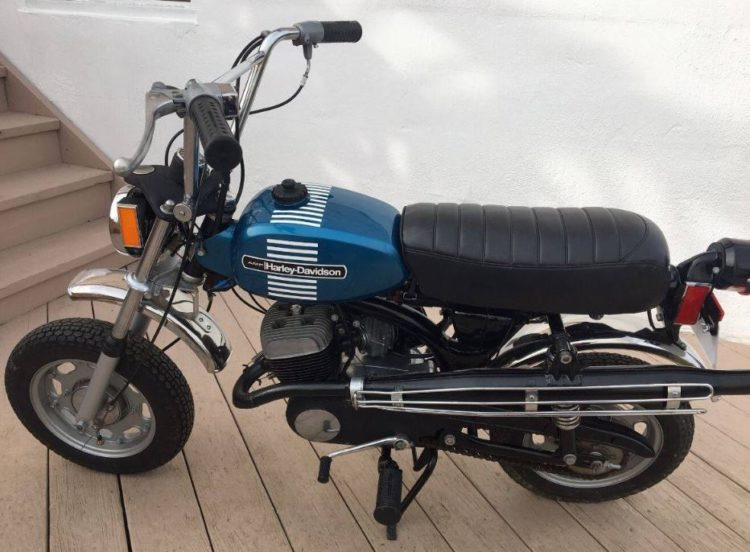 Harley Davidson Mini Bike 1