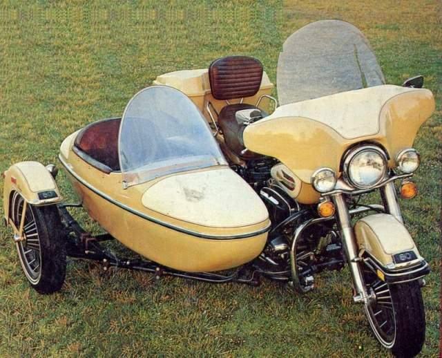 Harley Davidson sidecar 1