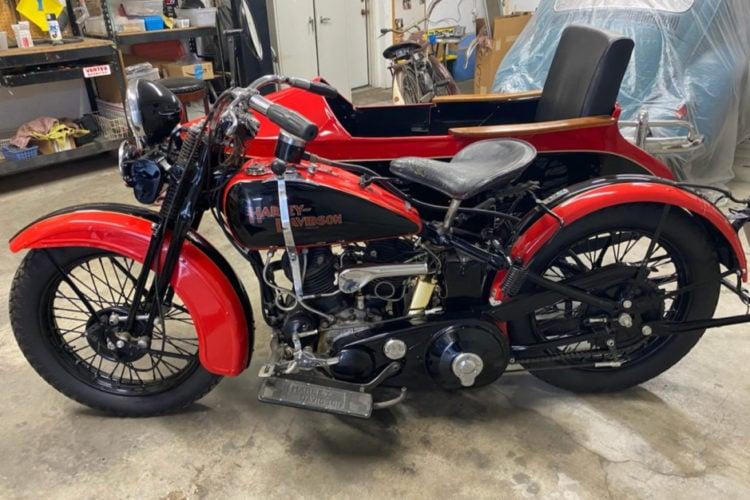 Harley Davidson sidecar 2