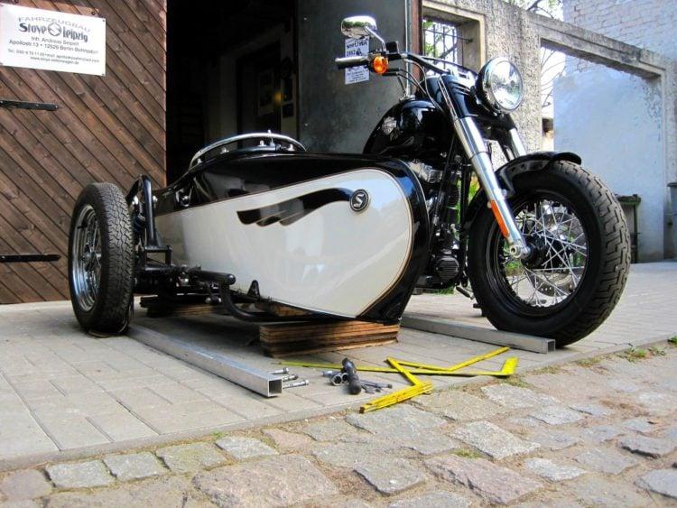 Harley Davidson sidecar 3