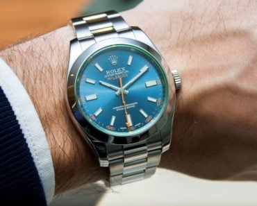 Rolex Milgauss Blue