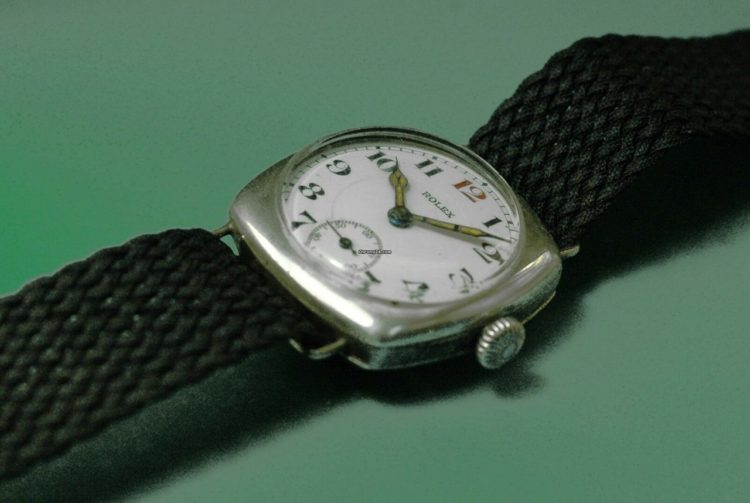 Rolex Vintage 1917 Military Trench Officer's WWII Watch