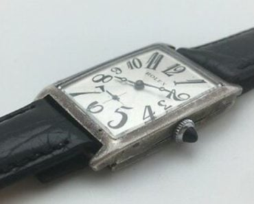 Sterling Silver Rolex Art Deco