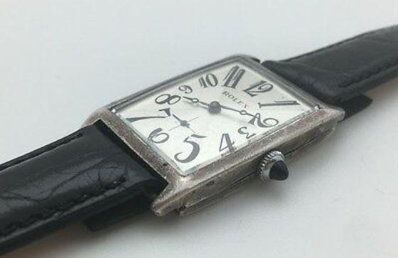 Sterling Silver Rolex Art Deco