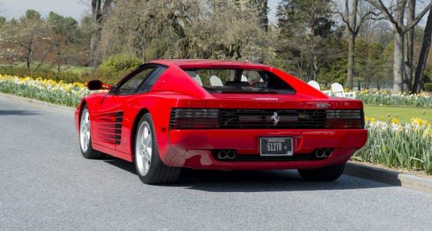 Used Ferrari 512 TR 5