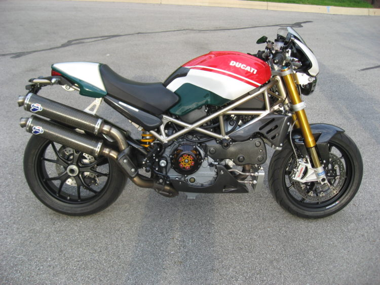 2008 Ducati Monster S4RS Tricolore Special Edition