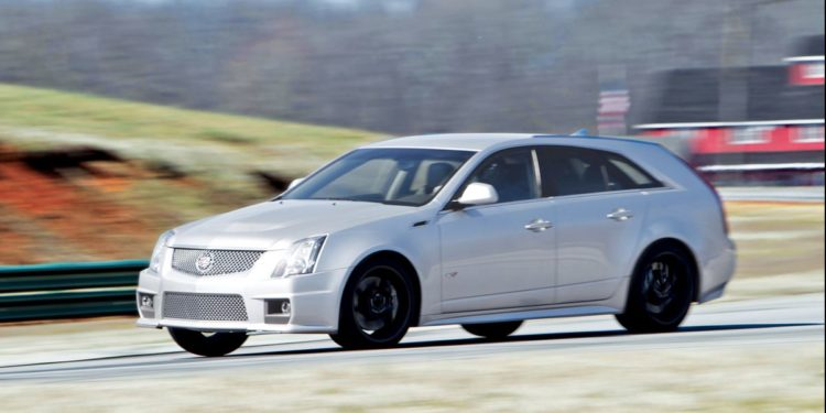Cadillac CTS-V Wagon - 2011 Model Year