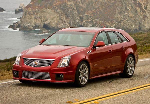 Cadillac CTS-V Wagon - 2013 Model Year