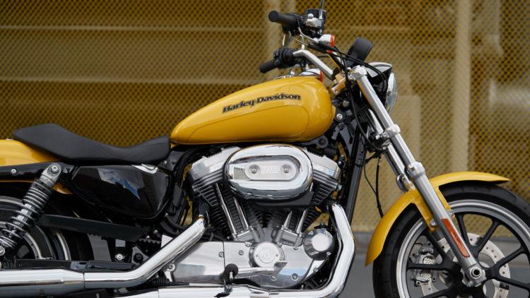 Harley Davidson Superlow 1