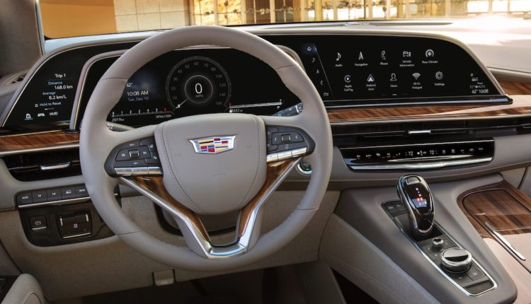 Interior of a Cadillac 1