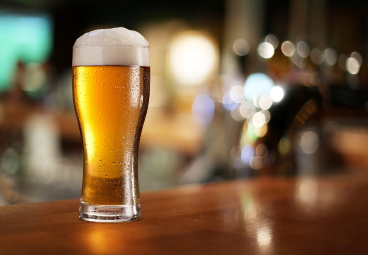 Beer at Desert Bar