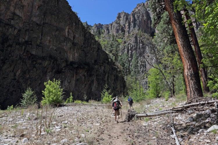 Dead Burro Canyon Trail
