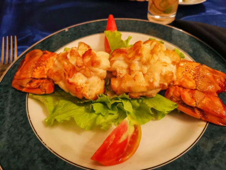 Cuisine at a Paladar