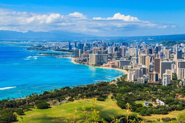 Urban Honolulu, Hawaii