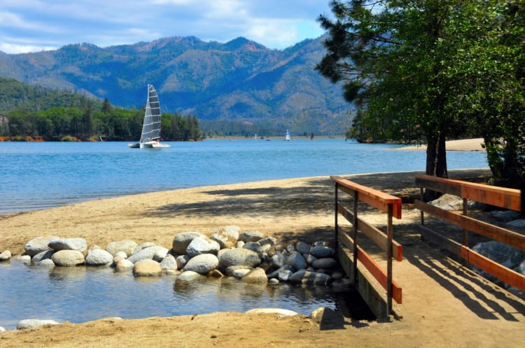 Redding and Red Bluff, California