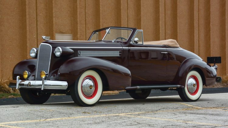 1937 Cadillac Series 60 Convertible