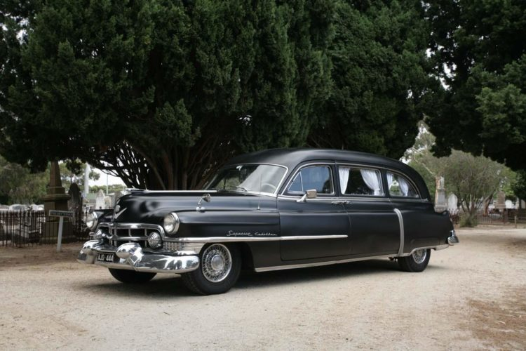 1951 Superior Cadillac ambulance