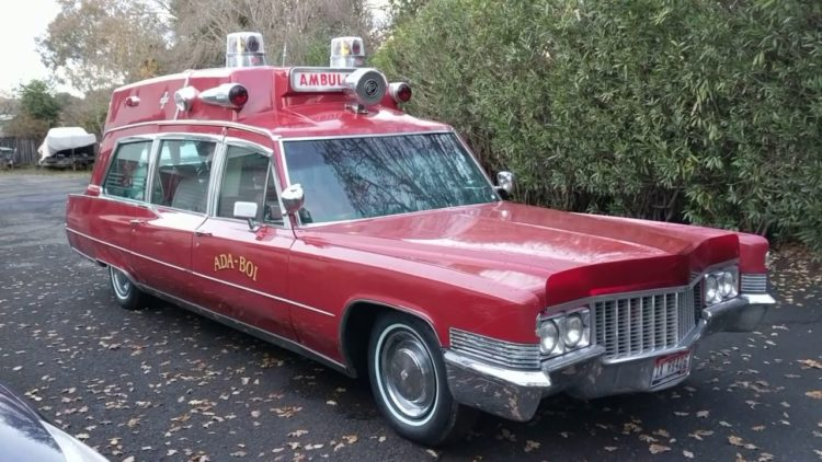 1970 Superior Cadillac Hightop Ambulance