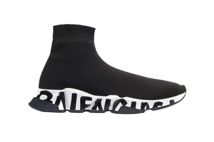 Balenciaga Speed LT Graffiti Sock Sneakers