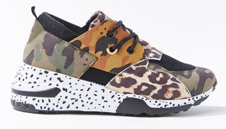 Forever 21 Camo sneaker