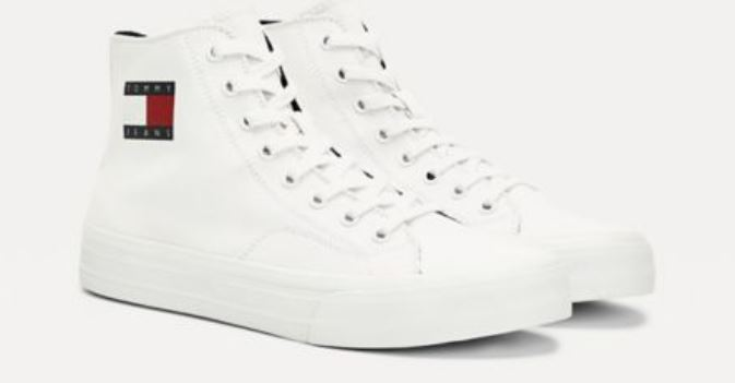 Lewis Hamilton Shearling High-Top Sneakers