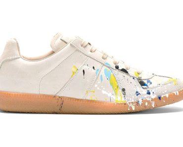 Maison Margiela Replica Splatter Sneakers