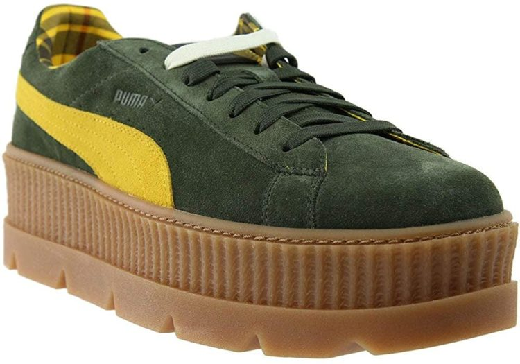 Puma Women's Fenty by Rihanna Suede Cleated Creeper Sneakers