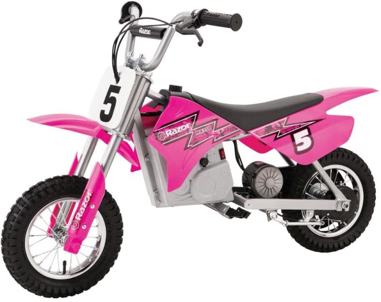 Razor MX350 Dirt Rocket Electric Motocross Bike in Pink