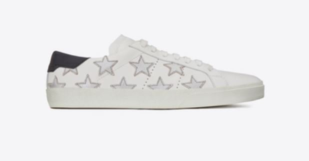 Saint Laurent Star leather sneakers