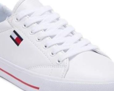 Signature Embossed Logo High-Top Sneakers