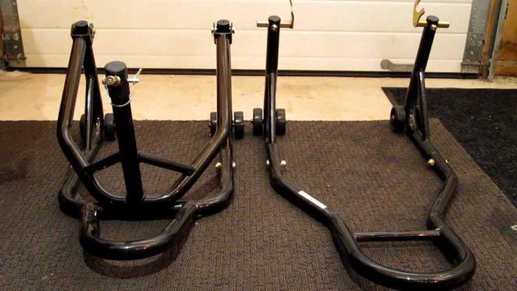 Venom Motorcycle Triple Tree Headlift Front Wheel Lift Stand