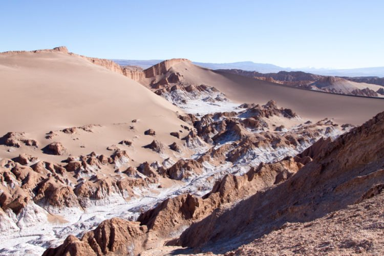Atacama Desert and the Valle de la Luna