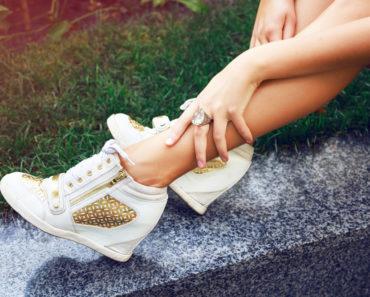 High Heel Sneakers
