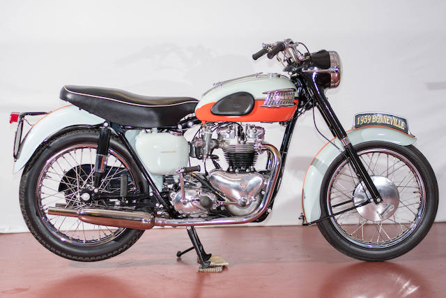 1959 VonDutch Triumph 650CC T120R Bonneville
