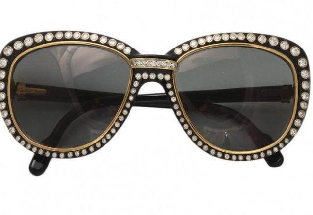 Cartier Paris 18k Gold Sunglasses