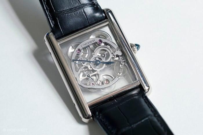 Cartier Tank Cartier Skeleton Watch