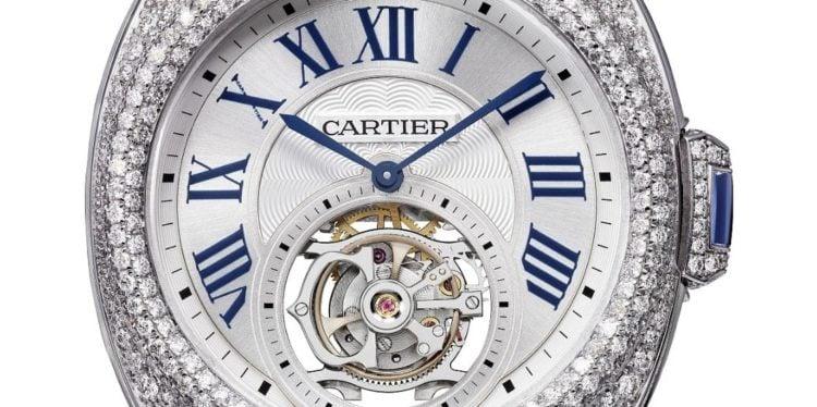 Clé de Cartier Flying Tourbillon Watch - REF HPI00933