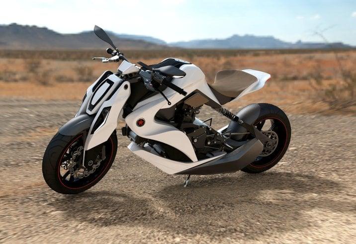Izh-1 Hybrid Motorcycle