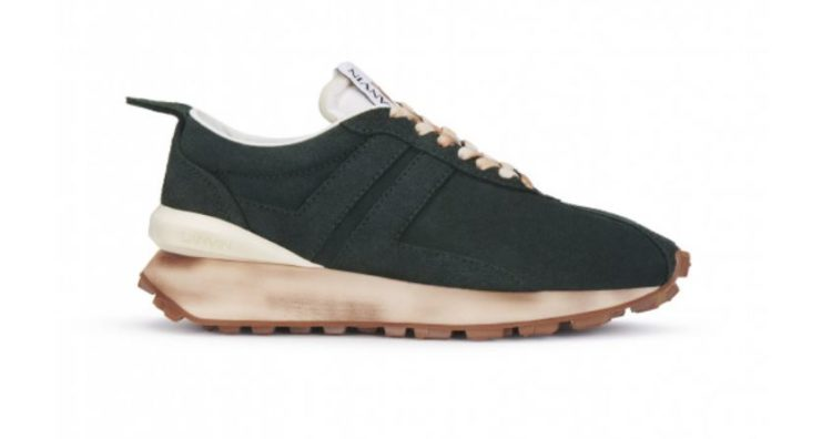 Lanvin Nylon Bumpr Sneaker