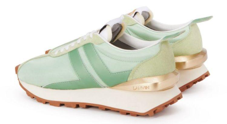 Lanvin Satin Bumpr Sneakers