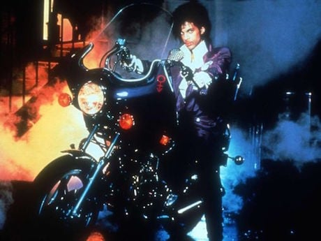 Motorcycle Did Prince Ride In 'Purple Rain' 1