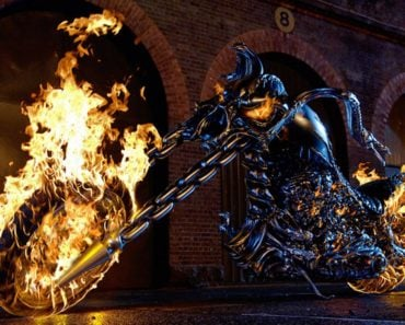 Motorcycle is Used in the Movie Ghost Rider