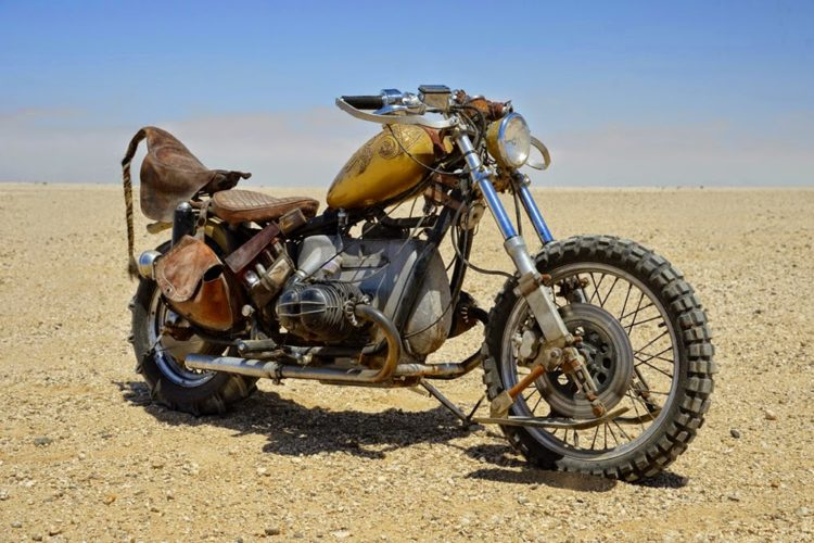 Motorcycles from the Mad Max Movies
