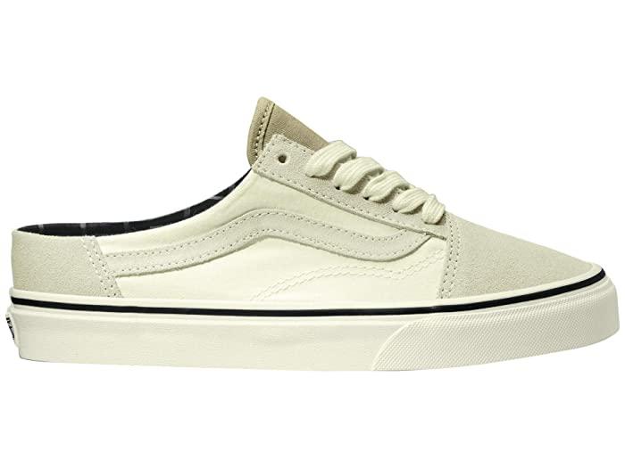 Neutral Block Old Skool Mule Sneakers for Men