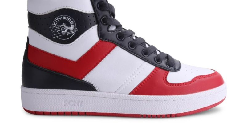 Pony Men's City Wings High Leather Sneaker
