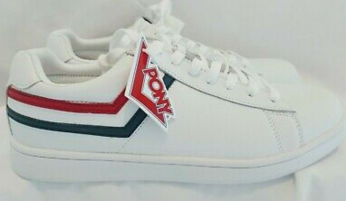 Pony Racer Leather Sneakers
