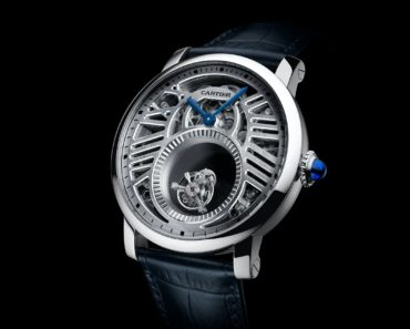 Rotonde de Cartier Mysterious Double Tourbillon Watch - REF HPI00588