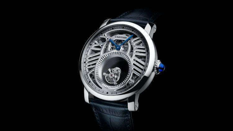 Rotonde de Cartier Mysterious Double Tourbillon Watch - REF HPI00588