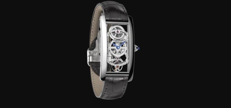 Tank Cintrée Watch - REF HPI01123